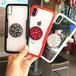 ビジュー グリップトック バンパー iPhone シェルカバー ケース ( ブラック ホワイト レッド レッド×ブラック ) ★ iPhone 6 / 6s / 6Plus / 6sPlus / 7 / 7Plus  / 8 / 8Plus / X / Xs★ [NW615]