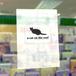 白黒猫クリアファイル-A