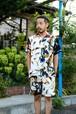 クレイジーパターンレーヨンシャツ【Universal Style Wear】