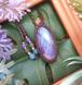 *Purple Sunset* Labradorite Macrame Necklace