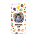 iPhonePlus・Android Lサイズ フルーツハードケース color:ホワイト