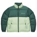 POLAR COMBO PUFFER DOWN JKT GREEN M ポーラー ダウン ジャケット