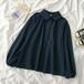 オシャレ シンプル 可愛い 長袖 合わせやすい トレンド 新作 シャツ・トップス