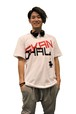 【SKANDHAL】LOGO Tシャツ【ホワイト】【再入荷】イタリアンウェア【送料無料】《M&W》