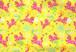 オリジナルファブリック 馬 黄色