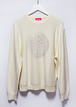 Remake yin&yan cosmons print cotton soft knit
