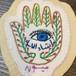 シリア刺繍のワッペン × ファティマの手 made by Syrians