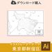 【ダウンロード】新宿区(AIファイル)