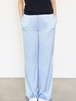 Vintage Satin Wide Pants / BLUE