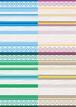 ■リリース記念4種類set A4用紙 013-016【FLOWER RAG】 5枚×4種 1500円