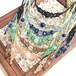 天然石のマクラメ編みネックレス/花瓶