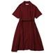 BOWLING DRESS (WINE) / RUDE GALLERY