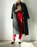 CELINE wool balmacaan coat