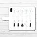 #081-022 手帳型iPhoneケース 手帳型スマホケース 全機種対応 iPhoneXs/X かわいい 女の子 Xperia iPhone5/6/6s/7/8 おしゃれ 可愛い Galaxy ARROWS AQUOS HUAWEI Zenfone タイトル:濡れるということ パターン2 作:嘉村ギミ