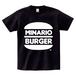 minario / MINARIO BURGER T-SHIRT BLACK