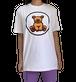 【SKANDHAL】CARPI Tシャツ【ホワイト】イタリアンウェア《M&W》