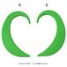 EARHOOK GREEN(緑)Lサイズ 片方のみ