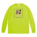 Long Sleeve T-shirt(Desinged by Nah) [グリーン]