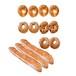 ベーグル4種類(プレーン・ごま・ごまチーズ・チョコ)10個&モリバケット3本