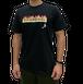 【SKANDHAL】FIAMMA Tシャツ【ブラック】【新作】イタリアンウェア《M&W》