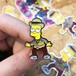 "THUMBS""Barty McFly 1885 Pin Badge"""