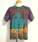 1980's THE doors 総柄ロックTシャツ 実寸(L位) ドアーズ