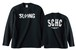 S.C.H.C LOGO : 1【LONG SLEEVE : 黒ボディ】