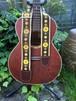 vintage flower guitar strap