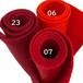 フェルト ピュアレッド 3色セット: 100%ウールフェルト 20X30cm 1mm