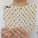 手帳型スマホケース(大きいサイズのiPhone用)いしカバくんボタニカル柄