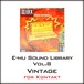 E-MU Sound Library Vol.8 Vintage