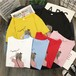 韓国ファッション可愛いカジュアル着回し力抜群スウィートTシャツ