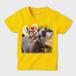 大好き、ママさん キッズTシャツ デイジー