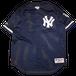 """Majestic """"N.Y. Yankees World Series 2000"""" Vintage Game Shirt Used"""
