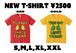 THIS GUY LOVES TSMMR Tシャツ (ゴールド、レッド)