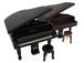 S.E.N.S. オリジナル・ 木製ピアノ型オルゴール(椅子付き)
