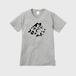 LEOPARD STEEL トライバルロゴTシャツ VネックTシャツ ヘザーグレー