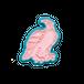 クッキー型:松鷹図(部分)