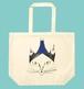 猫トートバッグ「フージーと猫」たっぷり大容量 L サイズのトートです!