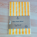 Vegan Wax Food Wrap (Yellow Stripe XL)