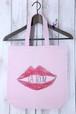 La Boum オリジナルデザイントートバッグ(love lip)