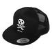 MUNCH SKULL MESH CAP (BLACK/BLACK) / RUDE GALLERY BLACK REBEL