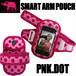 PINK ELEPHANT スマート・アームポーチ ピンクドット スマホケース