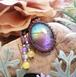 *Rainbow* Labradorite Macrame Necklace
