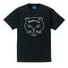 NYANP HARBOR 天神猫Tシャツ(ブラック)