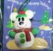 ディズニー ミッキーマウス オーナメント クリスマス スノーマン型