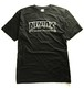 NINJA X(Tシャツ)Original ninjax rogo drip Black ニンジャエックス 4102