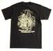 """Cycle Trash 21th anniversary """"Pocket"""" T-shirt -Black - by Burrito Breath"""