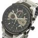 オリエント ORIENT 腕時計 メンズ FTT0J001B0 クォーツ ブラック シルバー ブラック