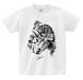 トリケラトプスTシャツ Triceratops T-shirt 【恐竜シリーズ】